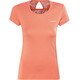 Columbia Peak to Point Novelty - Camiseta manga corta Mujer - naranja